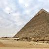 エジプト ギザ 「カフラー王のピラミッド」「メンカウラー王のピラミッド」 観光、徒歩で巡る