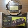 コンビニスイーツ(ローソン)🍫 Uchi Café×GODIVA ショコラケーキ/ダブルショコラプリン
