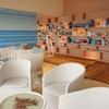 リゾナーレ熱海「ソラノビーチBooks&cafe」①~最上階に海の家!くつろぎのビーチ♪~