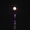 🌖続・スカイツリーとほぼ満月😙
