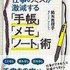 仕事のミスが激減する「手帳」「メモ」「ノート」術(鈴木真理子著)を読んで、実践してみました!まさに劇的改善!