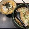 ミニかつ丼セット 600円 時短営業なので、急いで食べた。 (@ ゆで太郎 in 豊島区, 東京都)