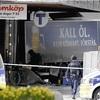 1人拘束、死亡4人に ストックホルムのトラック突入