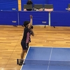 りん選手の一般シングルス 2019大阪国際招待卓球選手権大会