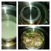 ステンレス製の台湾弁当箱を使って、大同電鍋で直接料理を作れば、そのまま詰めて出勤できる