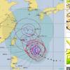 【台風情報】台風24号は25時06時現在で中心気圧が915hPaと『猛烈な』勢力に!29日頃九州に上陸・その後本州を縦断か!?気象庁・米軍・ヨーロッパの進路予想は?
