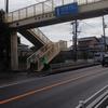 歩道橋清掃