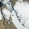 巨大な氷塊分離−温暖化