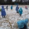 文理台公園の雪