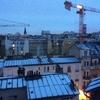 1月30日 雪の積もる朝 パリ