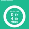 Softbankの4G LTEが遅いと思ったら確認する2つのこと