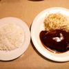 「ビフテキ・欧風料理スエヒロ」の「ハンバーグランチ」は超シンプルでうまい