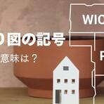 N・J・PS・R・WIC…間取り図の記号の意味は?