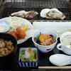 知内町で特製牡蠣御膳を食べてきました