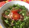 生野菜たっぷりアジア麺