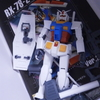 【組み立て】作業用ガンダム「ビーツ」 MG 1/100 RX-78-2 ガンダム Ver.2.0 (機動戦士ガンダム)【レビュー】【改造】