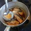 幸運な病のレシピ( 473 )朝:鶏のから揚げ、ハタハタの唐揚げ、カマスの唐揚げ、鮭の焼きびたし