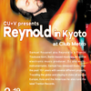 3/19 Reynold (Trenton Rec. / Berlin) in Kyoto at Club Metro