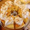 スフレチーズケーキ キャラメルポップコーン ストロベリーポップコーン ホイップのせ