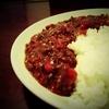 【料理】赤万願寺唐辛子のキーマカレー