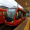 伊予鉄道の新型路面電車5000形に乗った