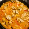 とろーりチーズの鶏肉のトマト煮