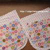高齢者に簡単な裁縫。3回目・母に丸ナス型巾着袋を作ってもらう(高齢者の暇つぶし・入院中)