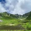 木曽駒ヶ岳・檜尾岳。