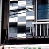 本日の看板建築風家屋/両国、吉良邸跡近くの鏡屋さん