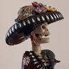 ハロウィンの飾り・メキシコの死者の日の人形
