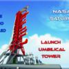 サポーター10,000人達成! レゴ アイデア「NASA Saturn-V Launch Umbilical Tower(NASA サターンV ロケット発射台)」