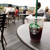 日本でただ一つ!納涼床を楽しめる京都鴨川のスタバに行ってきた