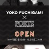 YOKO FUCHIGAMI 「FASHIONABLE」「OBSIDIAN」