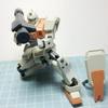 HGUC202  1/144 陸戦型ジム(1)〜仮組み〜