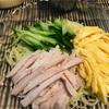 冷やし中華が食べたくて、夏。