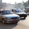 ミャンマーヤンゴンのタクシー事情