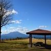 中茶屋公園(桜島を眺める)