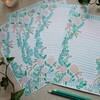 *【水彩画】手作りレターセットで手紙を書く*