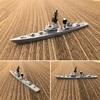 3Dプリンティングモデル 雑感(その3:たかつき級護衛艦の製作・架空艦への派生)「スカイウォーカーの夜明け」ブリーフコメント付き