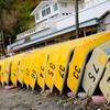 横堀海岸に立つ 油壷~城ケ島その1