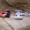 【組み立て】R戦闘機「クランベリー」&フォース「グリュー」 Yウイング&Aウイング ビークルモデル  【レビュー】【改造】