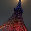 6月21日(木)hatenaより昨夜の東京タワー。
