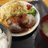 横須賀中央【TENZAN】重ねハンバーグ定食 ¥600