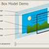 ボックスモデルと適切なフォントファミリー
