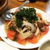 きのこと玉ねぎとトマトの冷菜を作ってみた