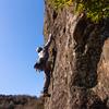 伊豆、城山でクライミング