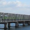 おおさか東線、赤川鉄橋に行ってきました。