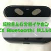 【超軽量】Bluetooth左右分離イヤホン「PZX Bluetooth」購入レビュー