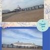 横浜赤レンガ停泊中の船