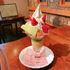 果物小町でフルーツパフェ(岡山県・倉敷)